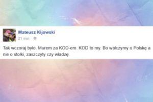 """Kijowski: """"Walczymy o Polskę a nie o stołki, zaszczyty czy władzę"""""""