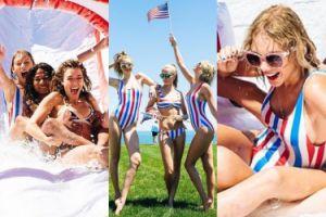 Swift, Hadid, Delevingne i Hiddleston świętują 4. lipca (ZDJĘCIA)