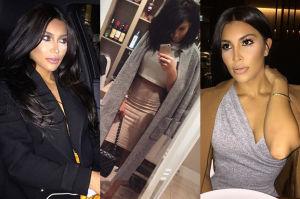 Kanadyjska blogerka jest sobowtórką Kim Kardashian... (ZDJĘCIA)