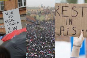 """""""No woman, no kraj"""": Zobaczcie transparenty z Czarnego Protestu"""