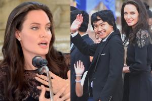 """Angelina Jolie: """"Mam nadzieję, że wychowałam syna na dumnego Kambodżanina"""""""