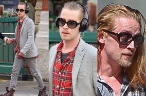 Macaulay Culkin sam w Nowym Jorku (ZDJĘCIA)