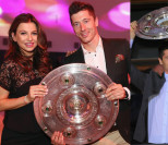 Ania i Robert Lewandowscy bawią się na imprezie Bayernu Monachium (ZDJĘCIA)