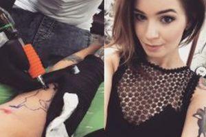 Ewelina Lisowska ma nowy tatuaż
