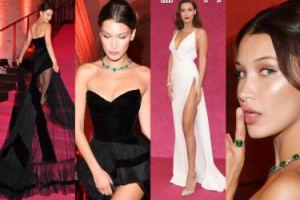 Bella Hadid chwali się ciałem na imprezie w Wenecji (ZDJĘCIA)