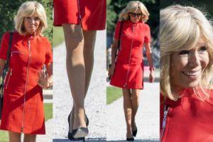 64-letnia Brigitte Macron chwali się nogami w Salzburgu (ZDJĘCIA)