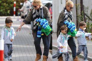 Aneta Zając odbiera dzieci z przedszkola (ZDJĘCIA)