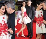 George Clooney z żoną na premierze