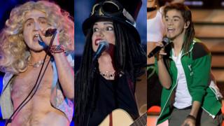 Kawalec śpiewa Led Zeppelin, Bohosiewicz przebrana za… Bednarka! (DUŻO ZDJĘĆ)
