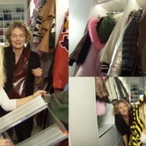"""Margaret pokazuje garderobę w TVN-ie. """"Poszłam w wysokość. Wchodzę tam na drabinie!"""""""