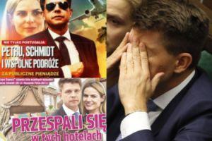 """""""Super Express"""" śmieje się z Petru i Schmidt: """"PRZELECIELI SIĘ przez pół Polski!"""" Petru grozi procesem!"""