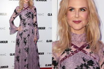 Nicole Kidman pozuje w kwiecistej sukience