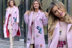 Joanna Krupa w różowej stylizacji w Atomówki (ZDJĘCIA)