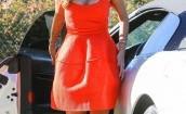 Nicole Scherzinger na czerwono (GALERIA)