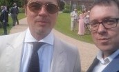 Guy Ritchie znów żonaty. Zaprosił gwiazdy (GALERIA)
