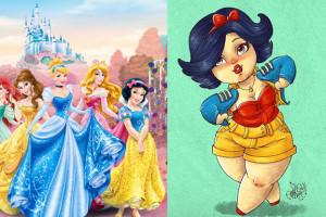 Disney stworzy postać KSIĘŻNICZKI XXL?