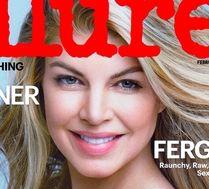 Wyprasowana Fergie na okładce!