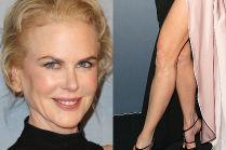 49-letnia noga Nicole Kidman na rozdaniu nagród