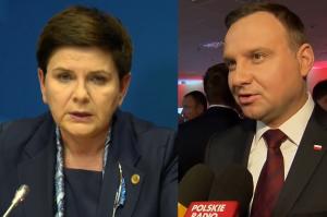 """Duda o Szydło: """"Merkel nie poparłaby niemieckiego kandydata, który krytykuje jej rząd"""""""