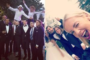 """Woźniak-Starak pokazał zdjęcia ze ślubu. """"Kocham wesela! Impreza trwa!"""""""