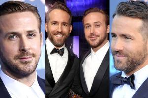 Ryan Gosling i Ryan Reynolds na jednej imprezie (ZDJĘCIA)