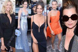 """Anja Rubik, Emily Ratajkowski i Kate Moss w drodze na imprezę """"Vogue'a"""" (ZDJĘCIA)"""