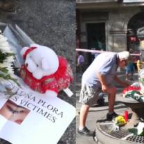 Barcelona oddała hołd ofiarom zamachów