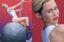 Nowa figura woskowa Miley Cyrus! Podobna?