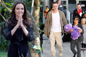 """Angelina Jolie: """"Brad jest fantastycznym ojcem. To nie to nas poróżniło"""""""