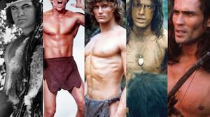 Tak zmieniał się Tarzan przez 100 lat na dużym ekranie... (ZDJĘCIA)