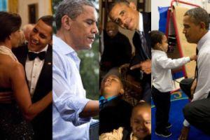 55 NAJLEPSZYCH ZDJĘĆ Baracka Obamy! Jego fotograf wybrał je spośród... 2 milionów!