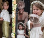 Szczęśliwa księżniczka Charlotte i ciekawski George na ślubie cioci Pippy (ZDJĘCIA)