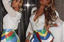 Beyonce chwali się szczupłym ciałem!