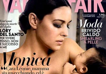 Monica Bellucci z córeczką!
