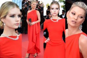 Siostry Moss w czerwieni w Cannes! (ZDJĘCIA)