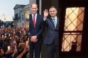 ZDJĘCIA TYGODNIA: Kate i William w Polsce, walka o Sąd Najwyższy i 6,5 tysiąca kryształków na sukni ślubnej Radwańskiej! (ZDJĘCIA)