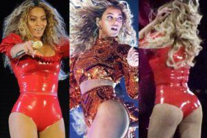Pośladki Beyonce na scenie w Nowym Jorku (ZDJĘCIA)