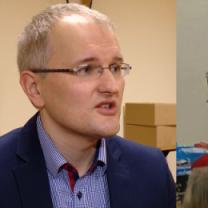 """""""Narodowy Mikołaj"""" z opaską ONR odwiedził dzieci w świetlicy Caritasu!"""