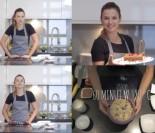 Ania Lewandowska robi ciasto na Walentynki...