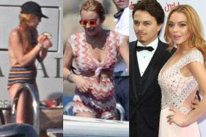 Lindsay Lohan JEST W CIĄŻY?! (FOTO)