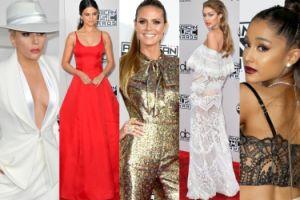 American Music Awards 2016: Lady Gaga, Gigi Hadid, Selena Gomez, Heidi Klum... (DUŻO ZDJĘĆ)