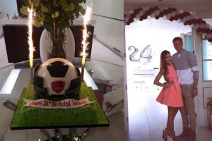 Marina urządziła Szczęsnemu urodziny-niespodziankę! (ZDJĘCIA)