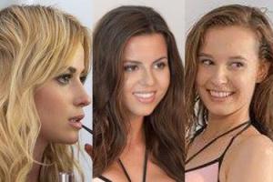 Wysmarowane oliwką finalistki Miss Polonia prężą się w bikini przed obiektywem (ZDJĘCIA)