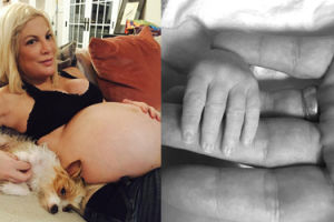 43-letnia Tori Spelling urodziła syna! To jej piąte dziecko