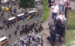 Zamieszki kibiców Legii z policją w Madrycie!