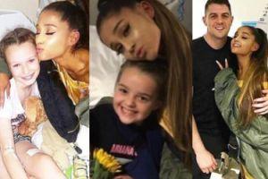 Ariana Grande odwiedziła dzieci ranne w zamachu terrorystycznym w Manchesterze (ZDJĘCIA)