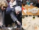 Skandal w Ravensbrück: Ocalone kobiety jadły z plastikowych talerzy, a delegacje - z porcelany...