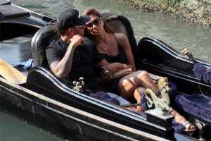 Scherzinger i Hamilton w Wenecji! (ZDJĘCIA)