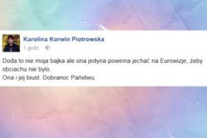 """Korwin Piotrowska o Dodzie: """"Powinna jechać na Eurowizję"""""""