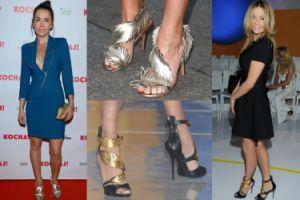 """""""Złote"""" buty: Olga Bołądź czy Lady Rozenek? (ZDJĘCIA)"""